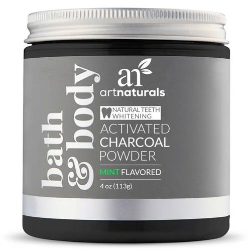 Activated Charcoal Powder Teeth Whitener