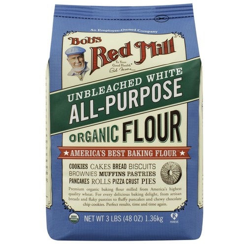 Unbromated Unbleached White Flour (4 Pack)