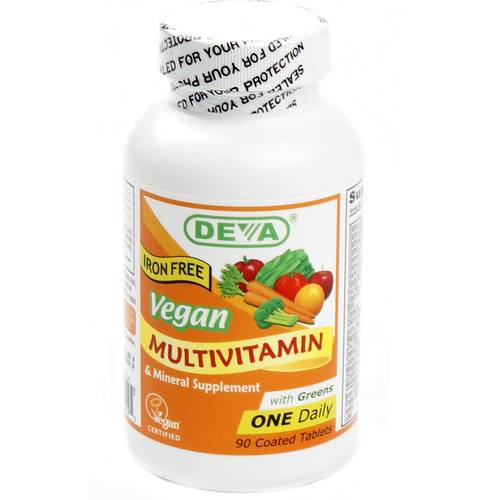 Vegan Multivitamin and Mineral One Daily