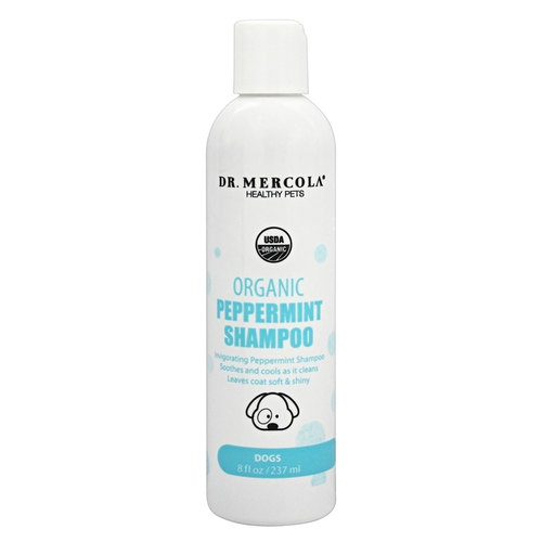 Organic Peppermint Shampoo for Dogs