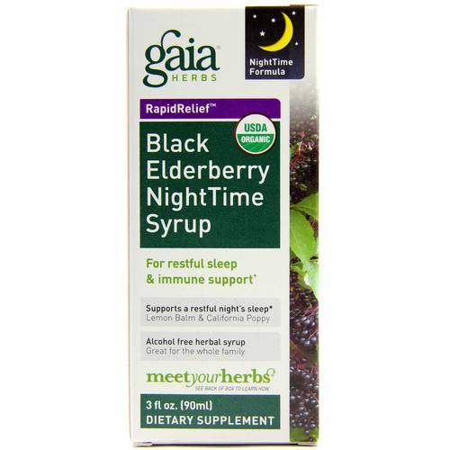 Black Elderberry Nighttime Syrup