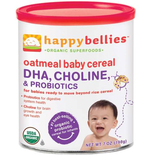 Happy Bellies Oatmeal Cereal (6 Pack)