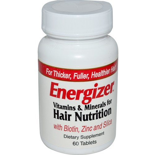 Energizer Vitamins and Minerals for Hair Nutrition