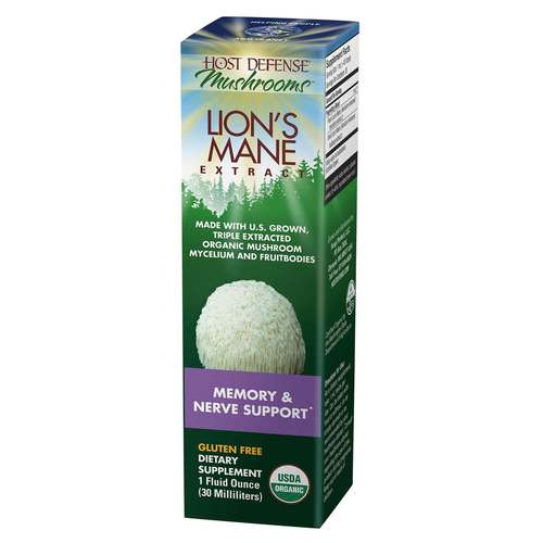 Lion's Mane Extract - Memory  Nerve Support