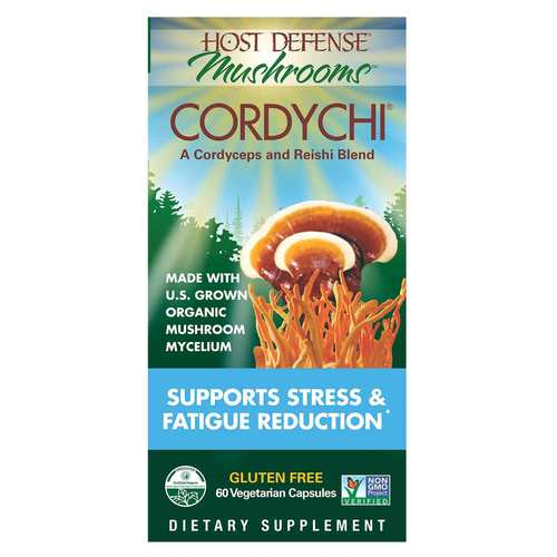 Cordychi - Supports Stress  Fatigue Reduction