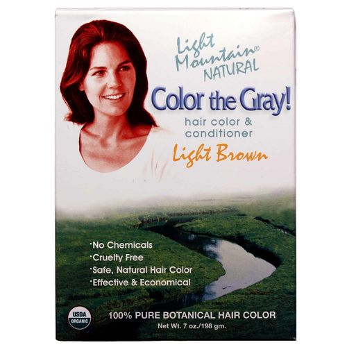 Color the Gray! Natural Hair Color and Conditioner