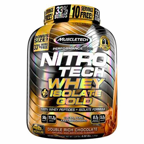 Nitro Tech Whey Plus Isolate Gold