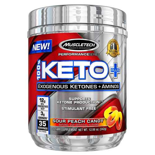 Performance Series 100- Keto Plus Sour Peach Candy