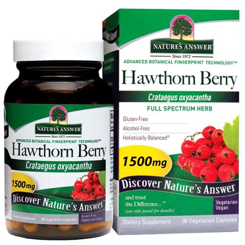 Hawthorn Berry 1-500 mg