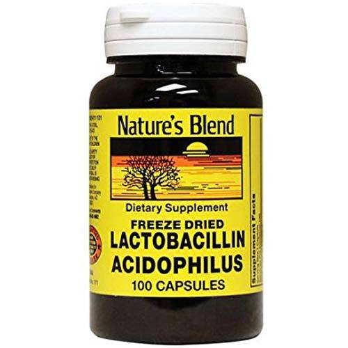 Freeze Dried Lactobacillus Acidophilus