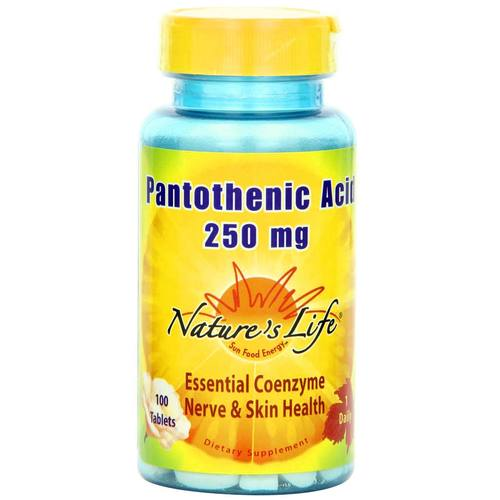 Pantothenic Acid 250 mg