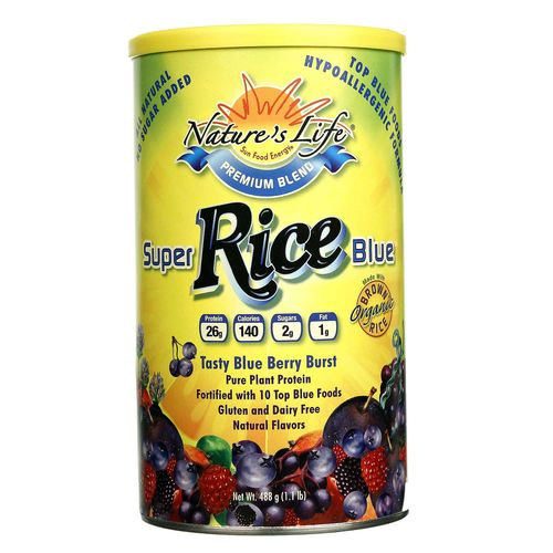 Super Blue Rice Protein