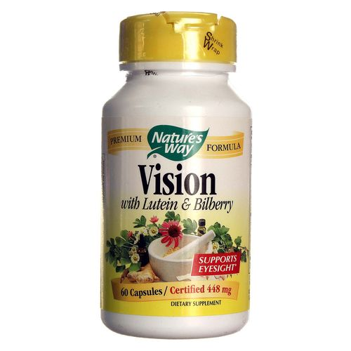 Vision with Lutein and Bilberry