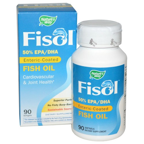 Fisol Enteric Coated Fish Oil