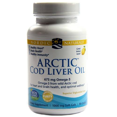 Arctic Cod Liver Oil Softgels