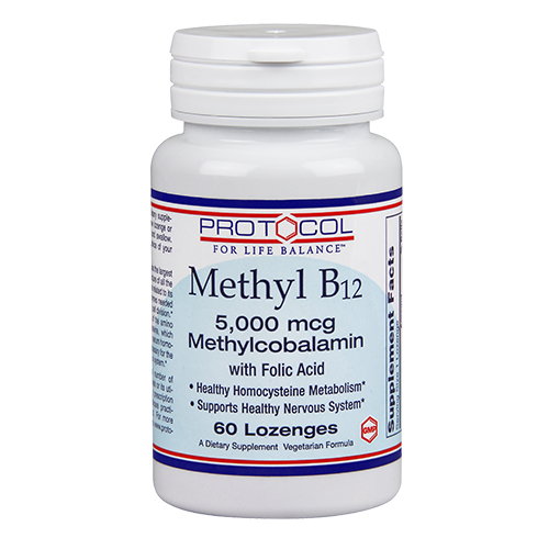 Methyl B12 5-000 mcg with Folic Acid