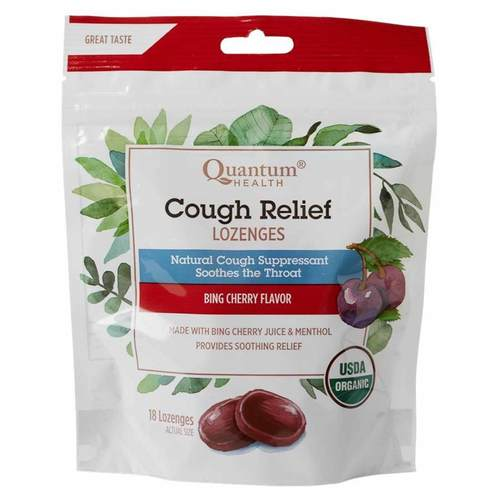 Cough Relief Lozenges Bing Cherry