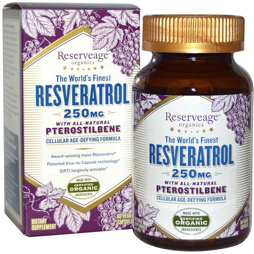 Resveratrol With All-Natural Pterostilbene