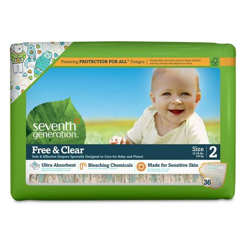 Free and Clear Diapers