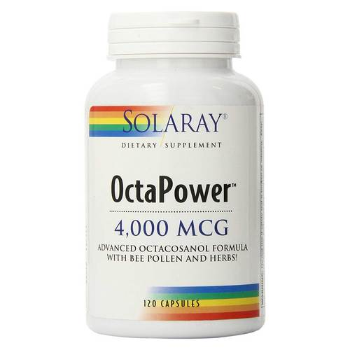 OctaPower Advanced Octacosanol Formula with Bee Pollen and Herbs