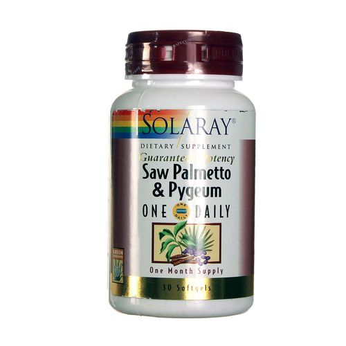 Saw Palmetto and Pygeum One Daily