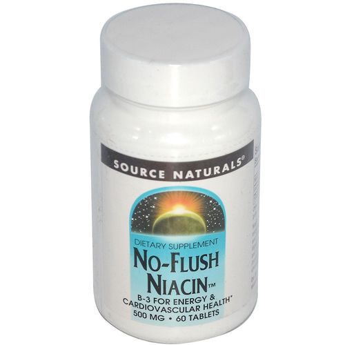No-Flush Niacin 500 mg