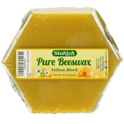 Pure Beeswax Block