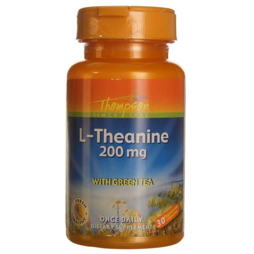 L-Theanine Maxicaps with Green Tea 200 mg