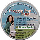 Preggie Pop Drops  by Three Lollies, Green Apple - 21 Pieces
