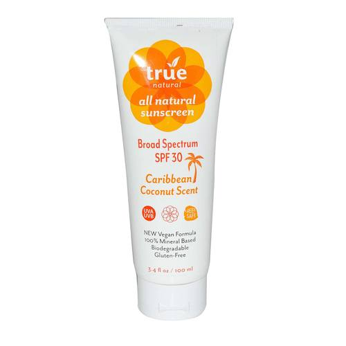 All Natural Broad Spectrum Sunscreen