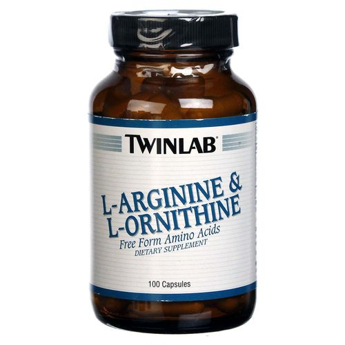 L-Arginine and L-Ornithine