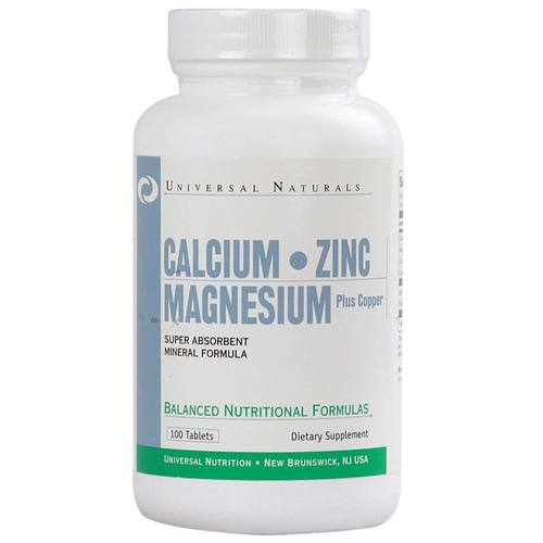 Calcium Zinc and Magnesium Plus Copper